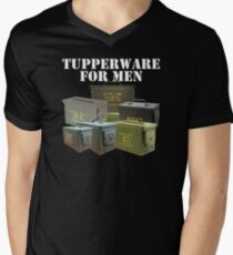 Tupperware For men Men's V-Neck T-Shirt