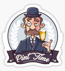 Pint Time Biere Sticker