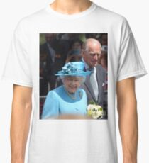 The Queen and Prince Philip Classic T-Shirt