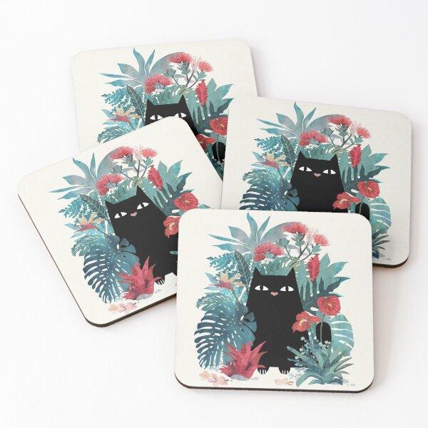 Popoki Coasters (Set of 4)