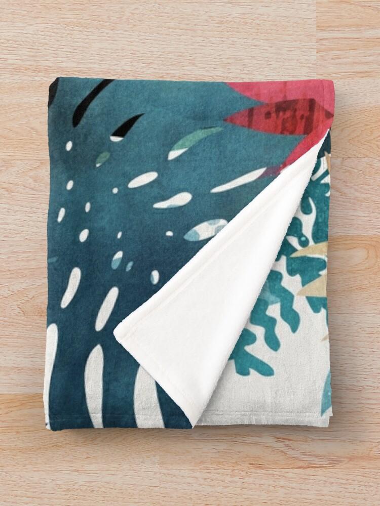 Alternate view of Popoki Throw Blanket