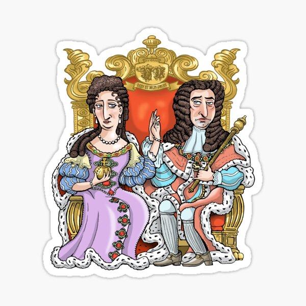 William & Mary Sticker