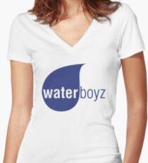 Water Boyz Women's Fitted V-Neck T-Shirt