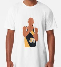 Reggie Miller Choke Sign Long T-Shirt