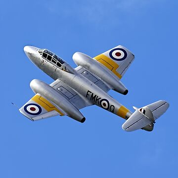 Gloster Meteor T7 by AndyHkr