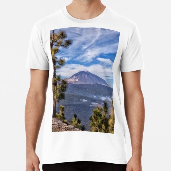 ...the volcano that's kissing the sky...  Premium T-Shirt