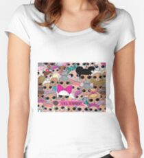 L.O.L Surprise - Pink Women's Fitted Scoop T-Shirt
