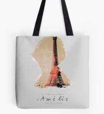 Amélie, Fine Art print, Jean-Pierre Jeunet, Audrey Tatou, giclee French movie poster, old classic cinema, Amelie Tote Bag