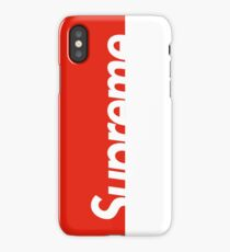 Supreme™ Red  iPhone Case/Skin