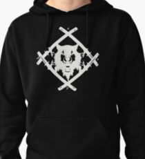 H. Squad White Pullover Hoodie