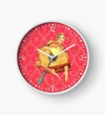 Toasted Clock