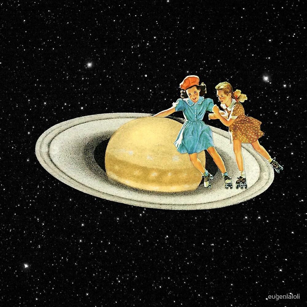 Stroll on Saturn by eugenialoli