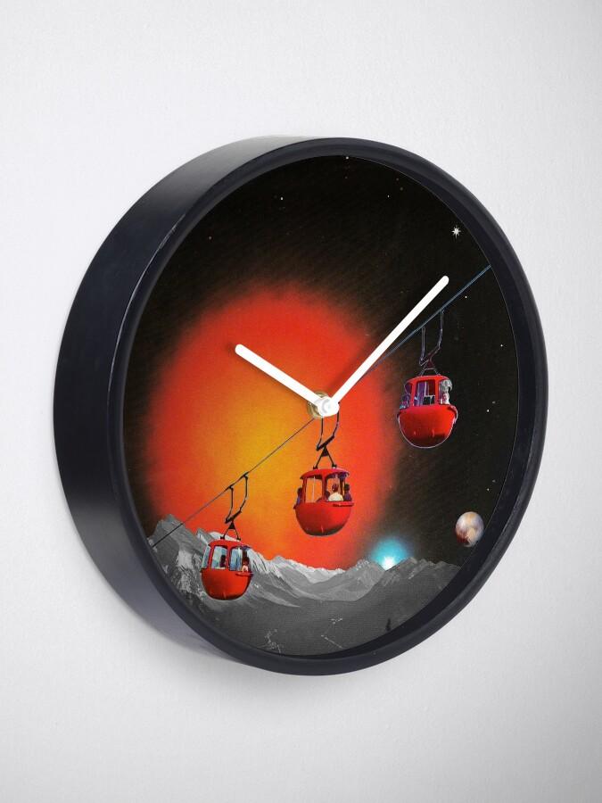 Alternative Ansicht von Evolutionäre Leiter Uhr