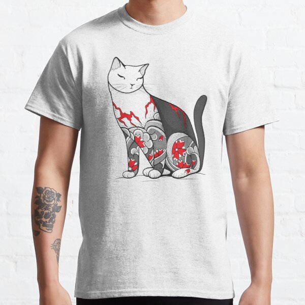 Sphinx Cat Says Huh Beautiful Tattoo Style Drawing Unisex Crew Neck Sweatshirt