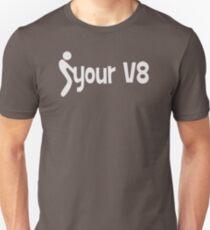Christmas Gift F Your V8 jdm funny racing AV321 New Product Unisex T-Shirt