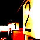 Train station in darkness by Wakethewatchman