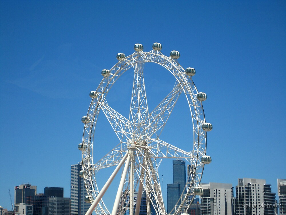 Southern Star Observation Wheel  by Kellie Metcalf