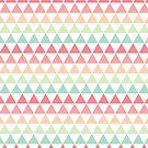Pastel Triangles by Nikita Iszard