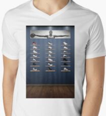 fe3362ed082b Air Jordan Legacy Poster Men s V-Neck T-Shirt