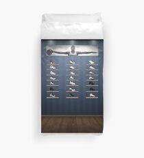 Air Jordan Legacy Poster Duvet Cover