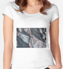 Geology makes art Fitted Scoop T-Shirt