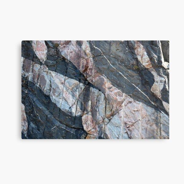 Geology makes art Metal Print
