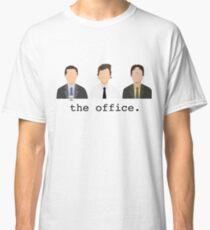 Jim, Dwight, Michael- The Office Classic T-Shirt