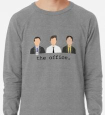 Jim, Dwight, Michael - Das Büro Leichtes Sweatshirt