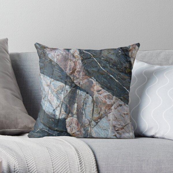 Geology makes art Throw Pillow