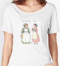 Mrs.Patmore-Daisy Women's Relaxed Fit T-Shirt