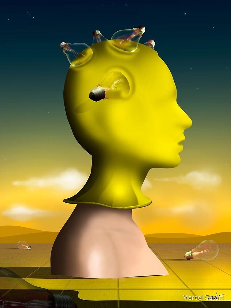 Perfil em Amarelo. by Marcel Caram