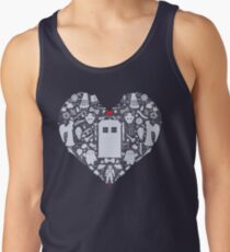 A Heart Full of Who Tank Top