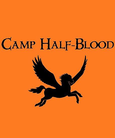 Camp Half Blood Logo Symbol Fan Fiction Geek Photographic Prints