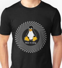 penguin sexy cute sys admin penguin pc nerd computer system core CPU pc coder geek informatik T-Shirt