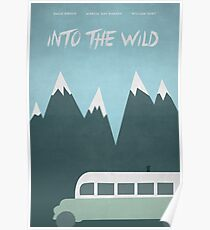 Into The Wild - Magic Bus - Minimalist Movie Poster Poster