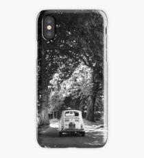 Cinquecento Fiat 500 BW iPhone Case/Skin