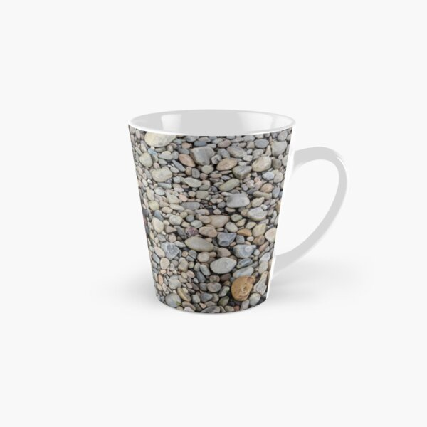 Jellyfish on a bed of pebbles Tall Mug