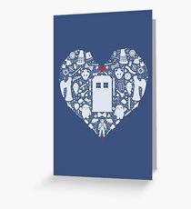 A Heart Full of Who Greeting Card