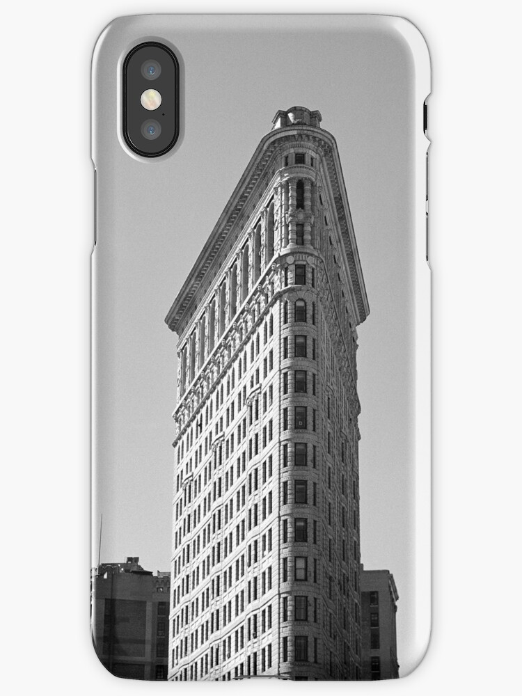 Flatiron building 1 - New York by Flo Smith