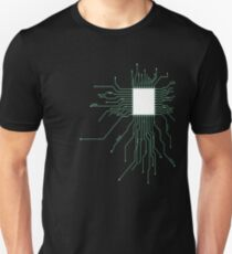 platine core CPU herz pc nerd computer system core CPU pc coder geek informatik T-Shirt