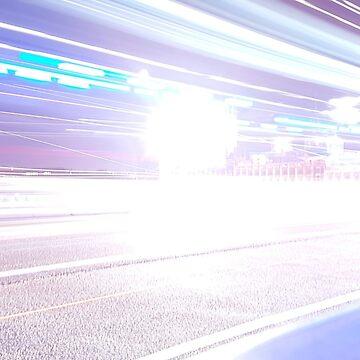 Light trace | London by Bluecloud184