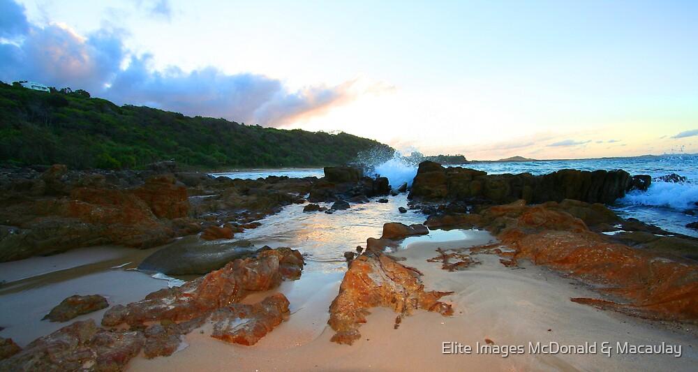 Rock pools by Elite Images McDonald & Macaulay