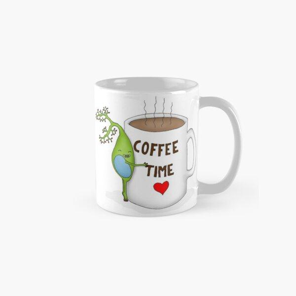 Coffee Time Brain Cell Classic Mug