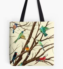 A Tree Full of Birds Tote Bag