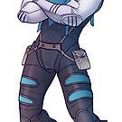 Resistance Leader by lornaka