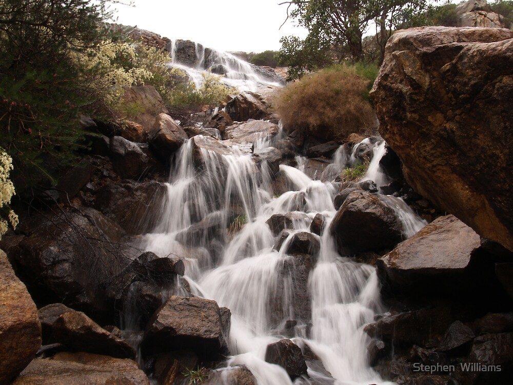 60ft Falls by Stephen  Williams