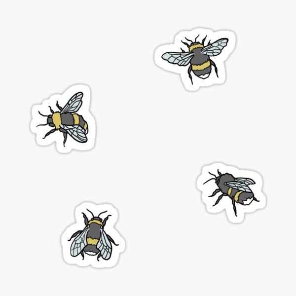 Bee Pattern Sticker