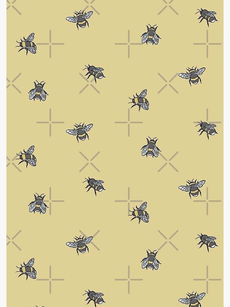 Bee Pattern by 221bCastiel