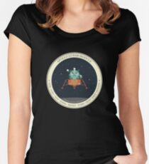 APOLLO LUNAR MODULE Women's Fitted Scoop T-Shirt