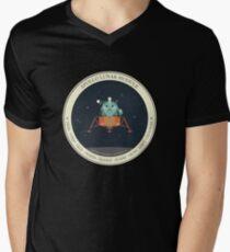 APOLLO LUNAR MODULE Men's V-Neck T-Shirt